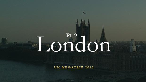 Англия: Лондон 2013